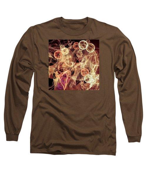 Bubbles On The Run Long Sleeve T-Shirt