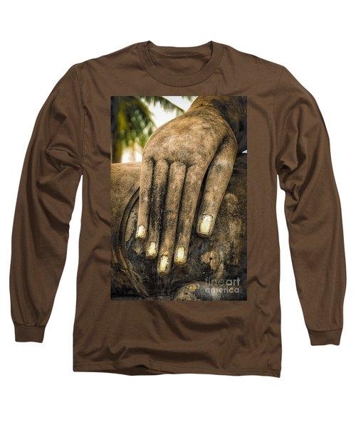 Buddha Hand Long Sleeve T-Shirt