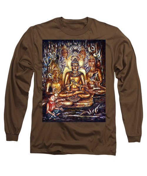 Buddha Reflections Long Sleeve T-Shirt