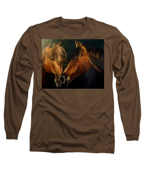 Buddy And Comet Long Sleeve T-Shirt by Maris Sherwood
