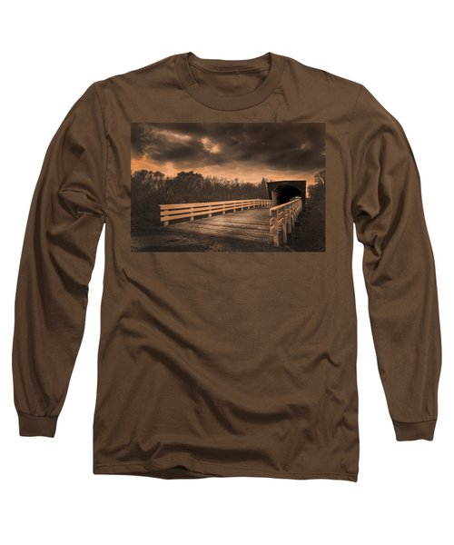 Built In 1883 Movie Clint Eastwood Long Sleeve T-Shirt
