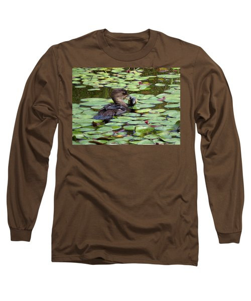 Bullfrog For Breakfast Long Sleeve T-Shirt