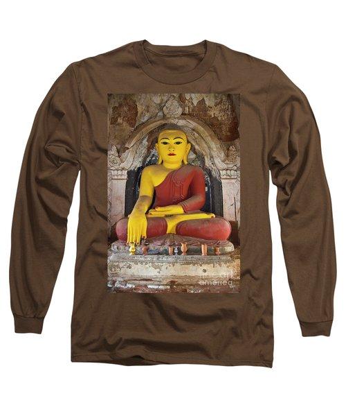 Long Sleeve T-Shirt featuring the photograph Burma_d1150 by Craig Lovell