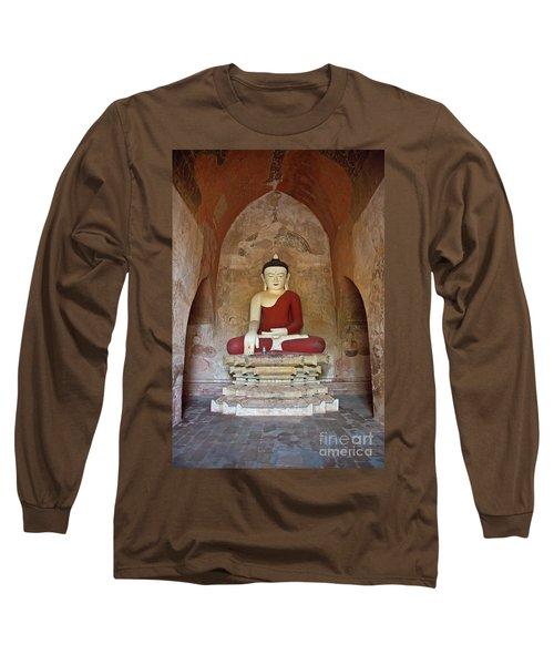 Long Sleeve T-Shirt featuring the photograph Burma_d2078 by Craig Lovell