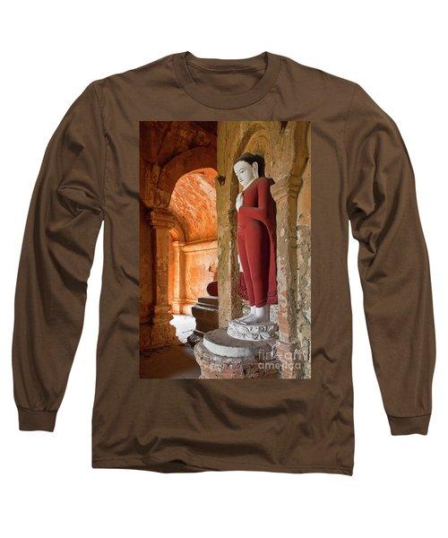 Long Sleeve T-Shirt featuring the photograph Burma_d2280 by Craig Lovell