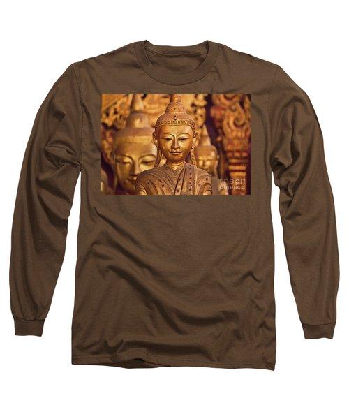 Long Sleeve T-Shirt featuring the photograph Burma_d579 by Craig Lovell