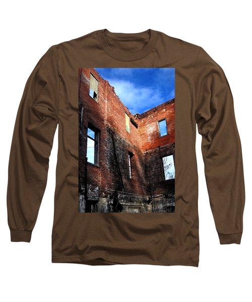 Burn Victim Long Sleeve T-Shirt