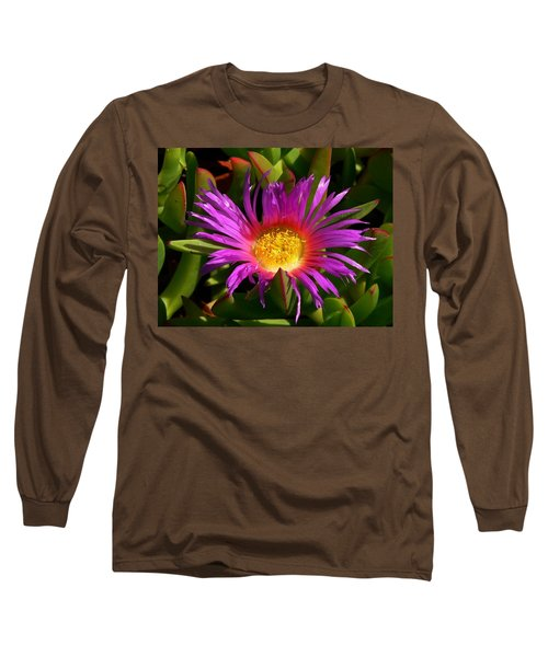 Long Sleeve T-Shirt featuring the photograph Burst Of Beauty by Debbie Karnes
