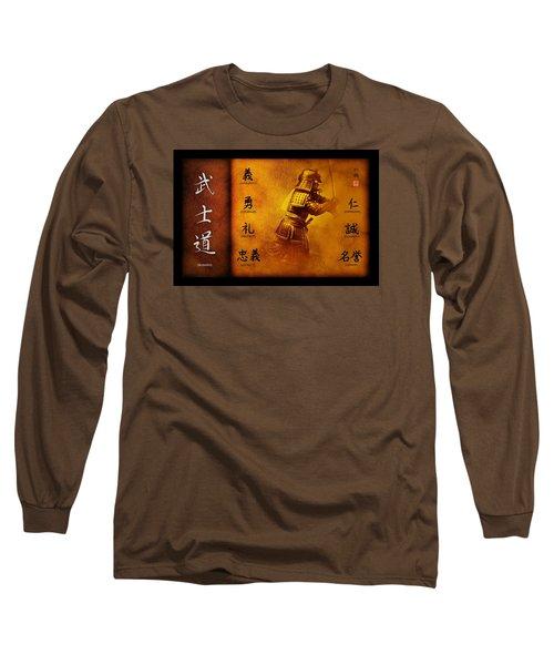 Bushido Way Of The Warrior Long Sleeve T-Shirt