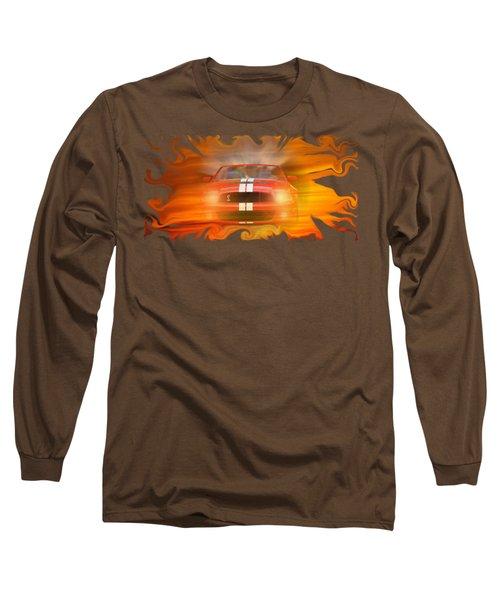 Bustin Thru Long Sleeve T-Shirt by David and Lynn Keller