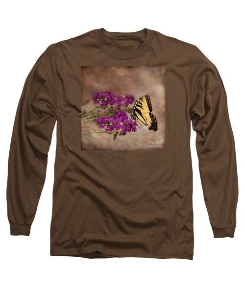 Butterfly , Eastern Tiger Swallowtail Long Sleeve T-Shirt