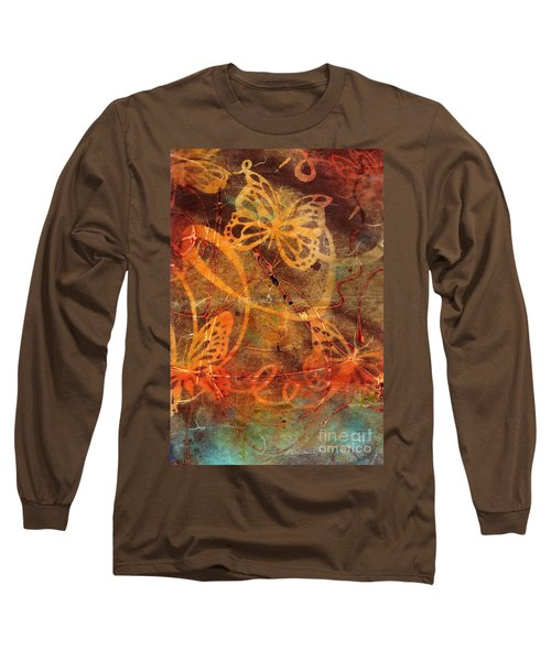 Butterfly Sun Dance Long Sleeve T-Shirt