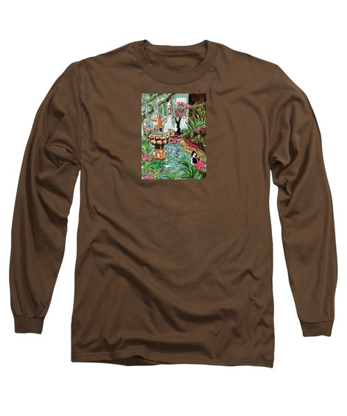 Butterfly World Long Sleeve T-Shirt by Jean Pacheco Ravinski