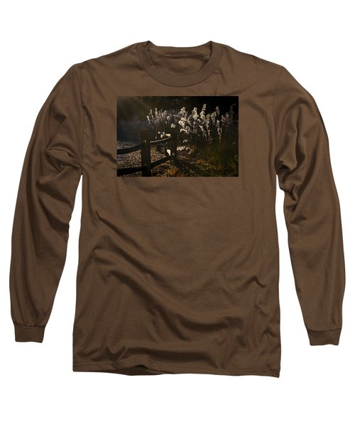 Long Sleeve T-Shirt featuring the photograph By The Way by Steven Sparks