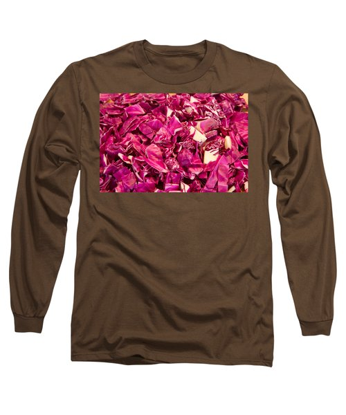 Cabbage 639 Long Sleeve T-Shirt by Michael Fryd