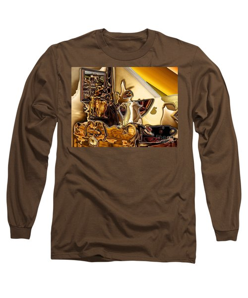 Cabinet Top Long Sleeve T-Shirt by Ron Bissett