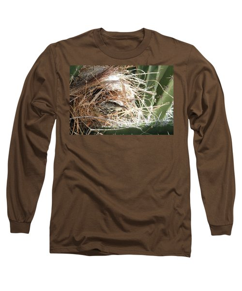 Cactus Wren Long Sleeve T-Shirt
