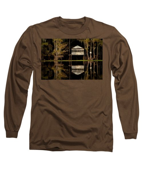 Caddo Lake Boathouse Long Sleeve T-Shirt
