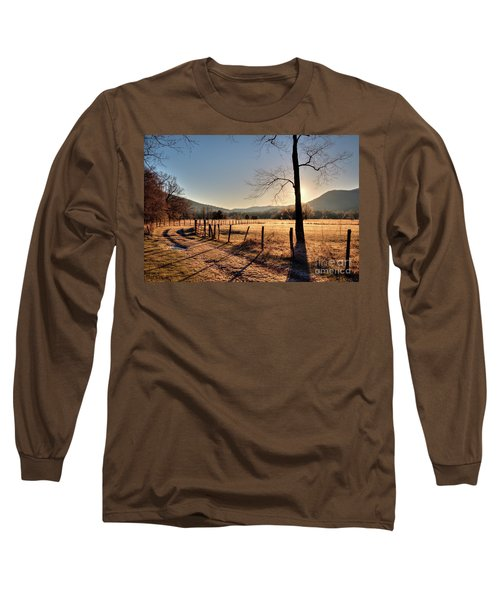 Cades Cove, Spring 2017,i Long Sleeve T-Shirt by Douglas Stucky