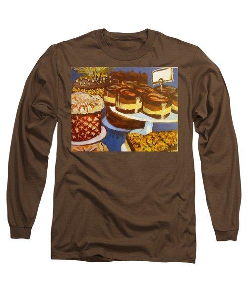 Cake Case Long Sleeve T-Shirt