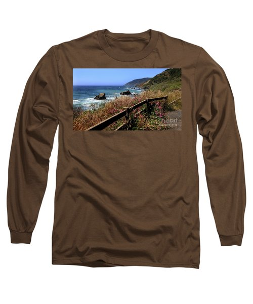California Coast Long Sleeve T-Shirt by Joseph G Holland
