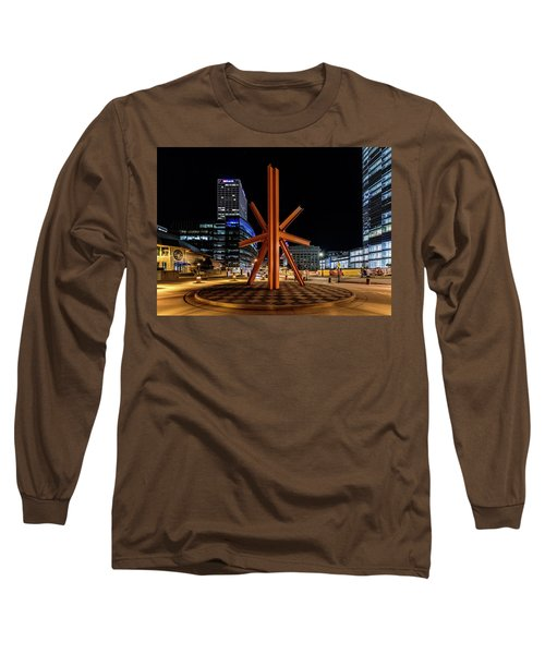 Long Sleeve T-Shirt featuring the photograph Calling After Sundown by Randy Scherkenbach