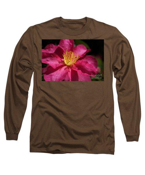 Camellia Sasanqua Long Sleeve T-Shirt