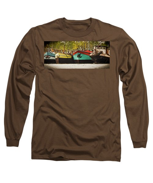 Canal Boats Long Sleeve T-Shirt