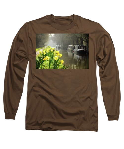 Canalside Daffodils Long Sleeve T-Shirt