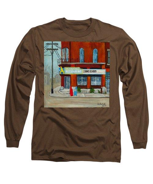 Canary Restaurant Long Sleeve T-Shirt