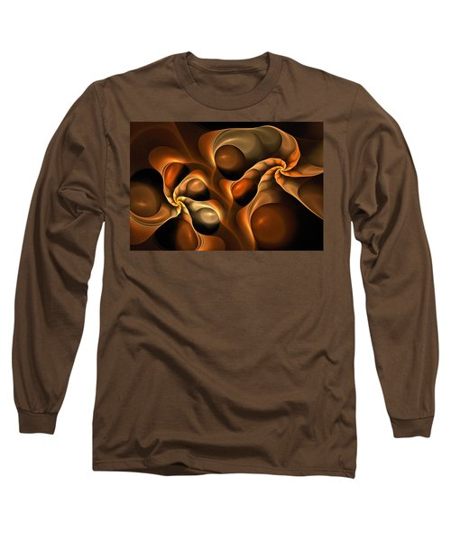 Candied Caramel Twists Long Sleeve T-Shirt
