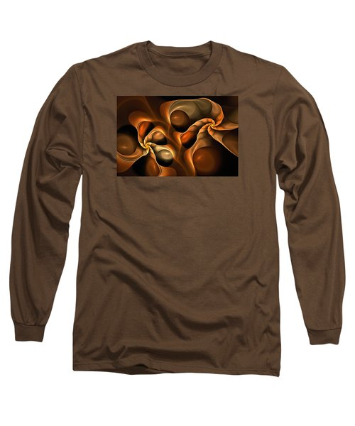 Candied Caramel Twists Long Sleeve T-Shirt