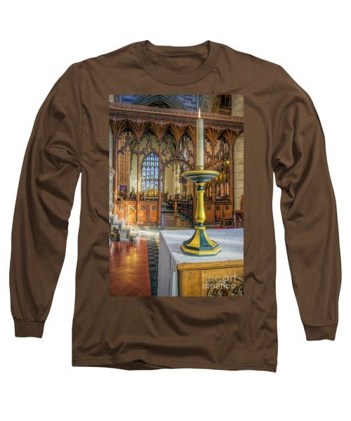 Long Sleeve T-Shirt featuring the photograph Candle Of  Prayer by Ian Mitchell