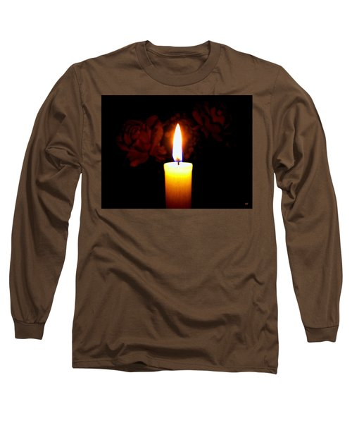 Candlelight And Roses Long Sleeve T-Shirt