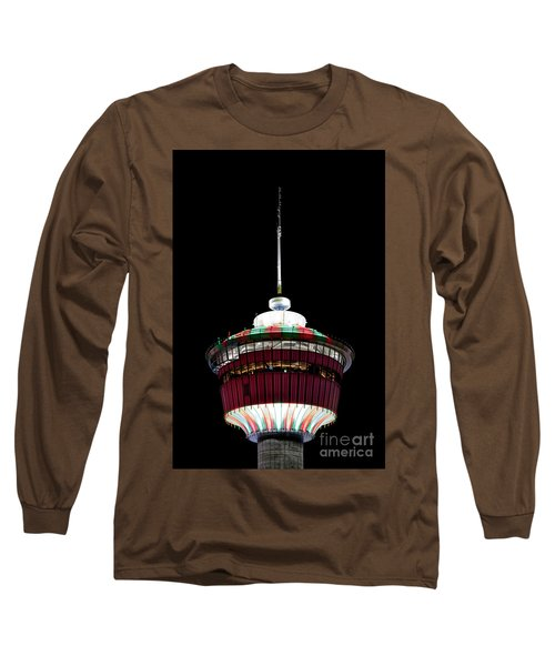 Long Sleeve T-Shirt featuring the photograph Candy Cane Tower by Brad Allen Fine Art