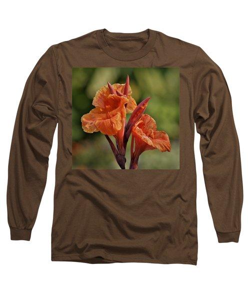 Canna Lily 2945_3 Long Sleeve T-Shirt
