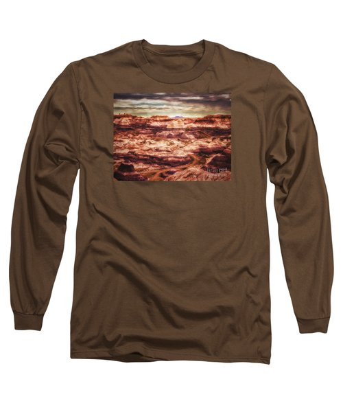 Canyon In The Painted Desert  ... Long Sleeve T-Shirt by Chuck Caramella
