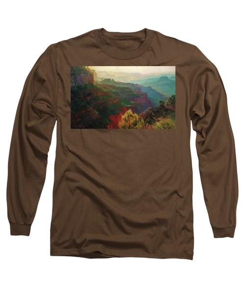 Canyon Silhouettes Long Sleeve T-Shirt