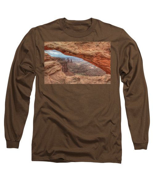 Canyonlands From Mesa Arch Long Sleeve T-Shirt