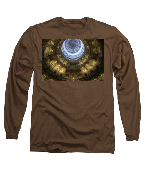 Capitol Dome Interior Long Sleeve T-Shirt
