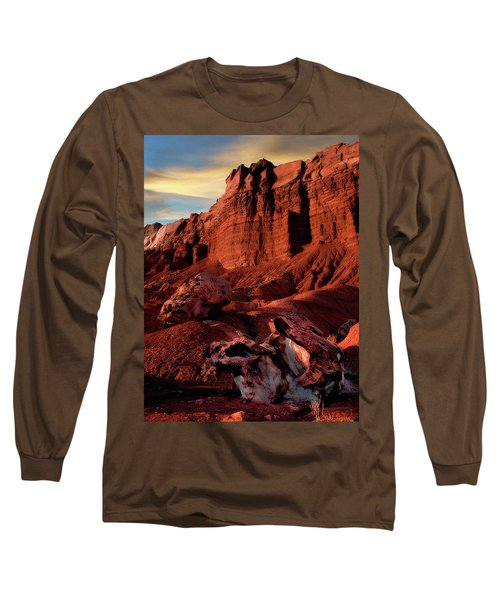 Capitol Reef National Park Long Sleeve T-Shirt by Utah Images