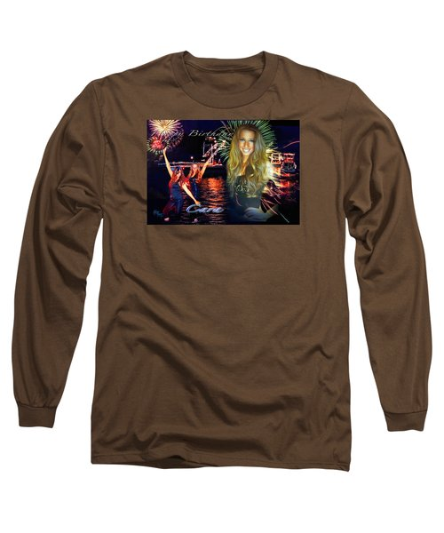 Cara Earth Angels Birthday Long Sleeve T-Shirt