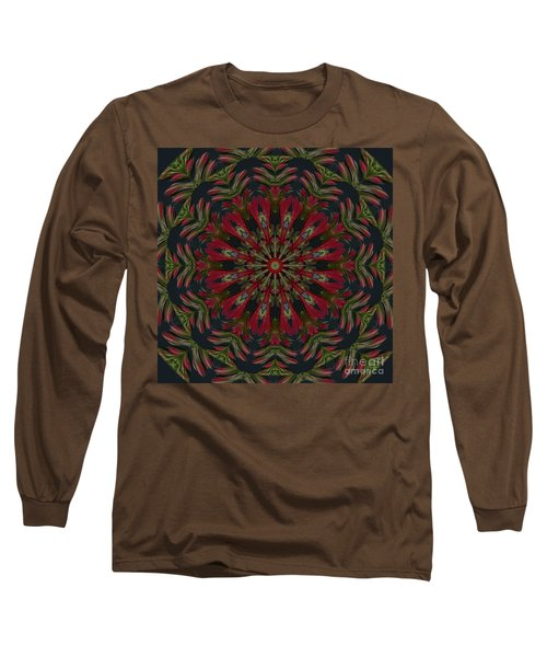 Cardinal Kaleidoscope Long Sleeve T-Shirt