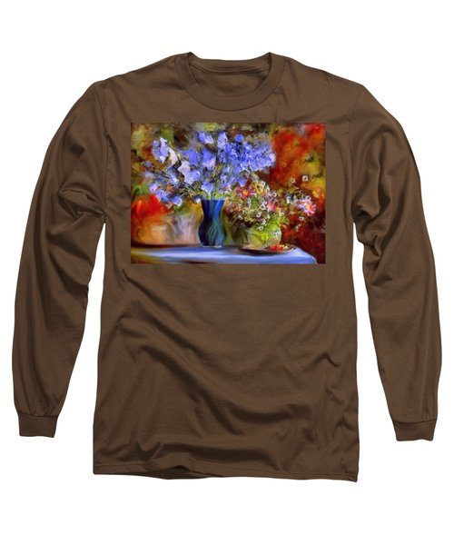 Caress Of Spring - Impressionism Long Sleeve T-Shirt