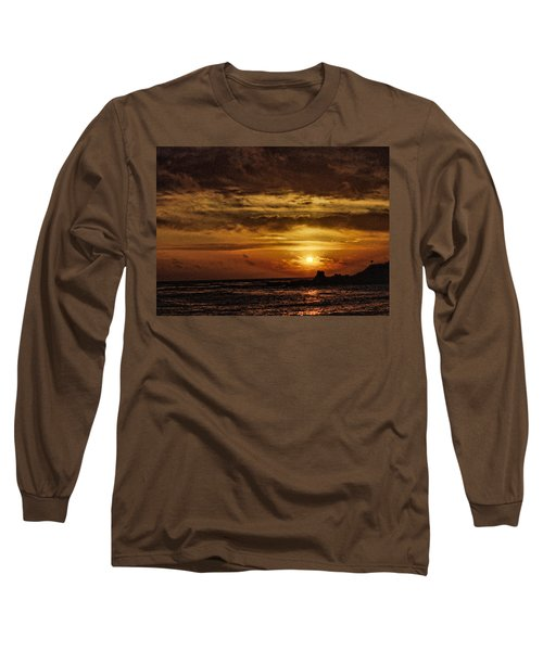 Carmel Sunset Long Sleeve T-Shirt by Michael McGowan