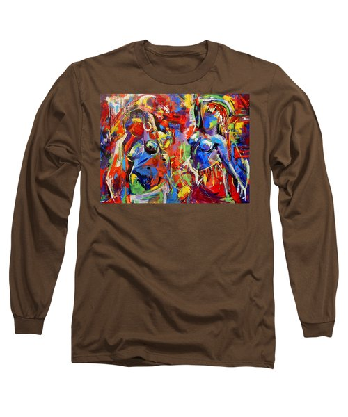 Carnival- Large Work Long Sleeve T-Shirt