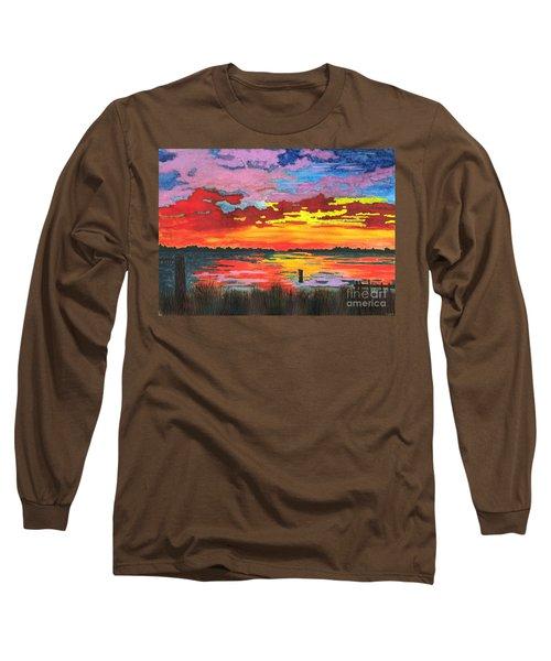Carolina Sunset Long Sleeve T-Shirt