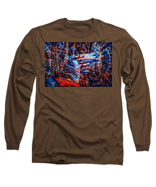 Long Sleeve T-Shirt featuring the photograph Carousel Dream by Michael Arend