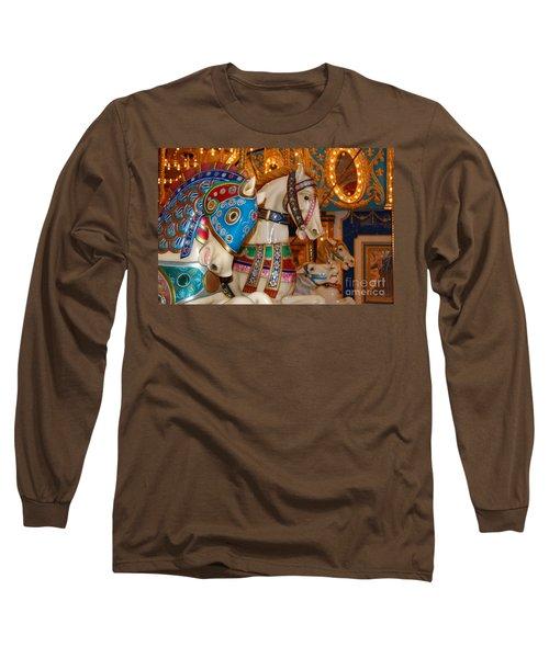 Carousel Horses Long Sleeve T-Shirt