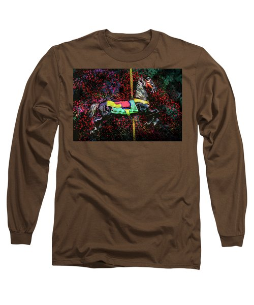 Long Sleeve T-Shirt featuring the photograph Carousel Number 16 by Michael Arend